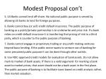 modest p roposal con t