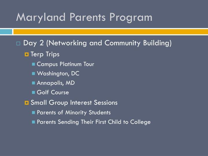 Maryland Parents Program
