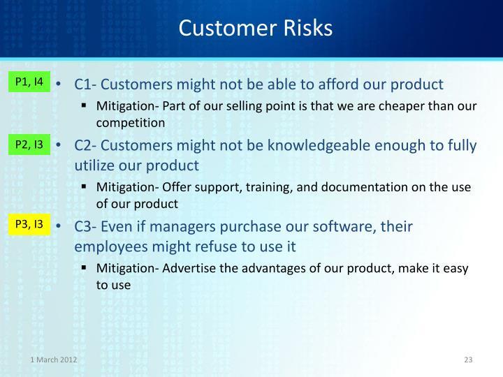 Customer Risks