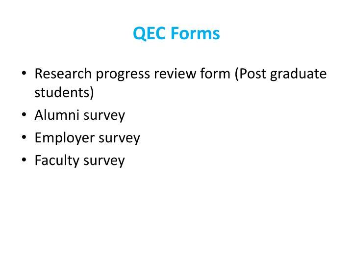 QEC Forms