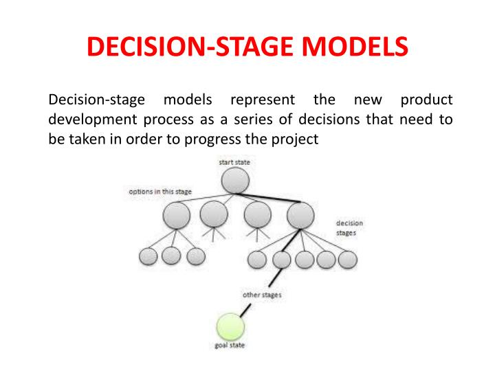 DECISION-STAGE MODELS