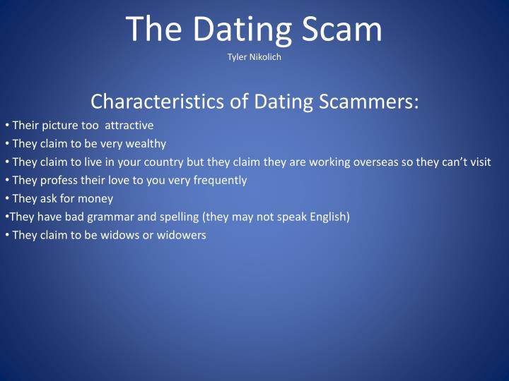 The Dating Scam