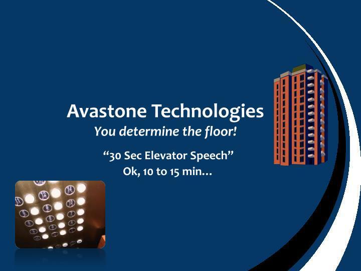Avastone Technologies