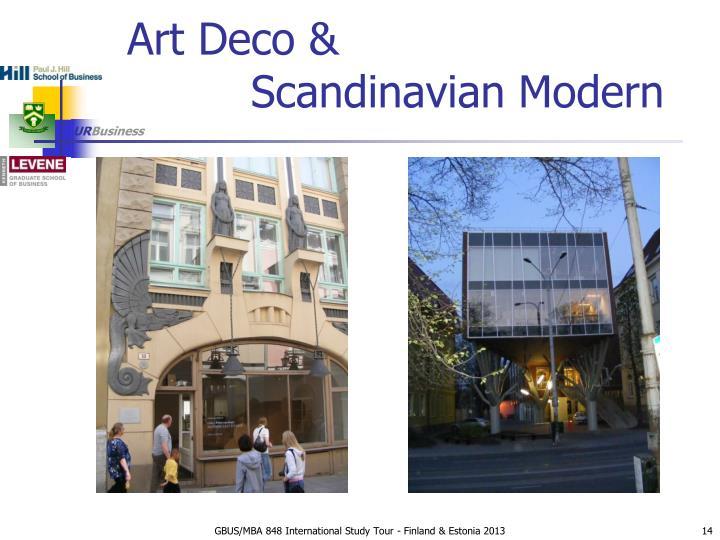 Art Deco &