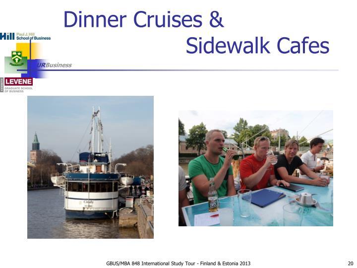 Dinner Cruises &