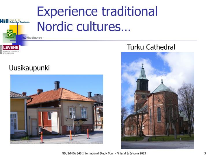 Experience traditional nordic cultures