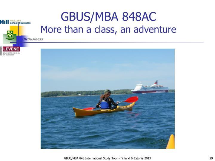 GBUS/MBA 848AC