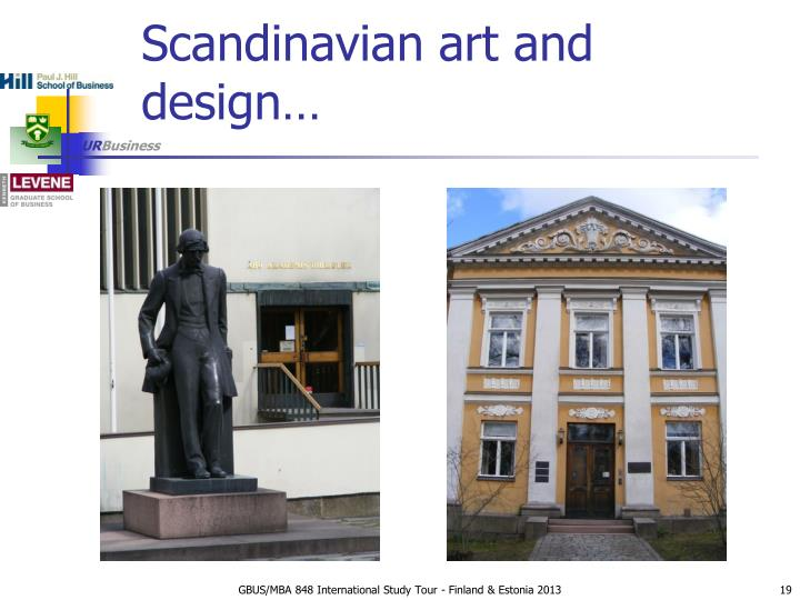 Scandinavian art and design…