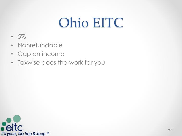 Ohio EITC