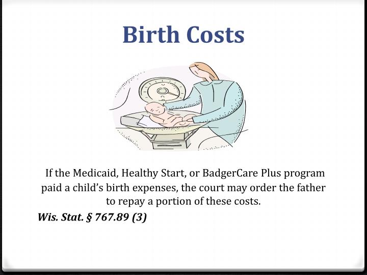 Birth Costs