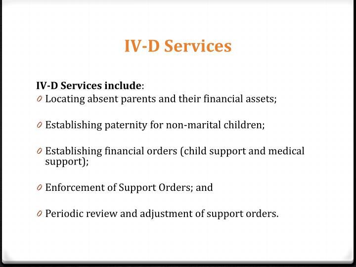 IV-D Services