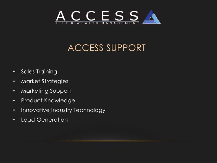 ACCESS Support
