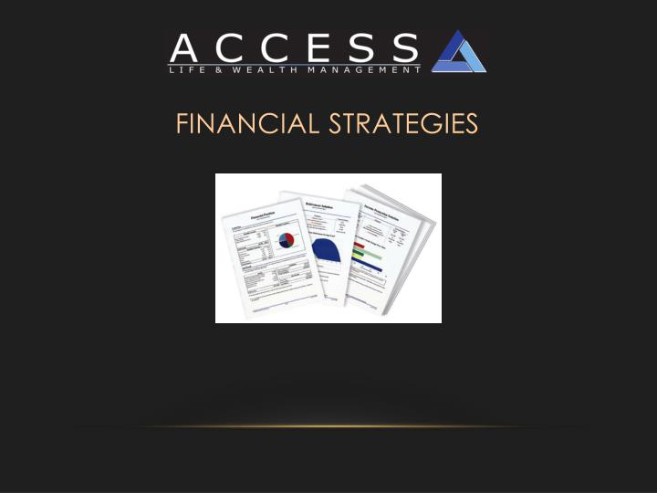 Financial Strategies