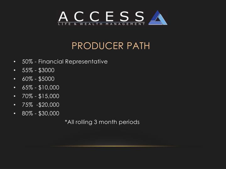 Producer Path