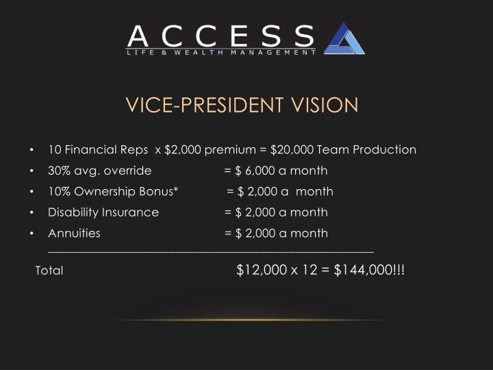 Vice-President Vision