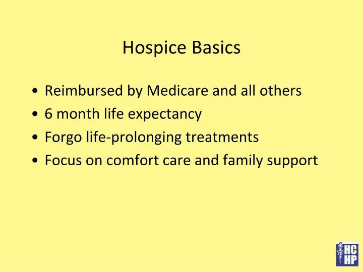 Hospice Basics