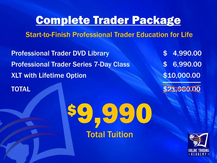 Complete Trader Package