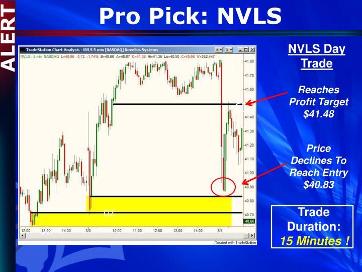 Pro Pick: NVLS
