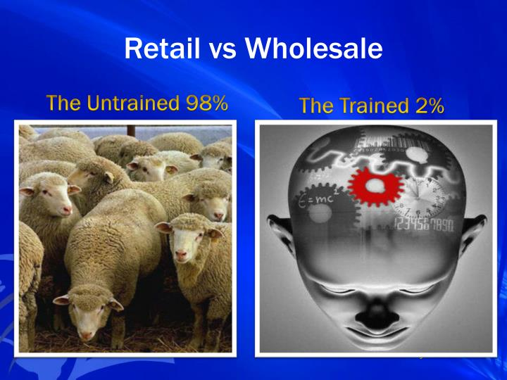 Retail vs Wholesale