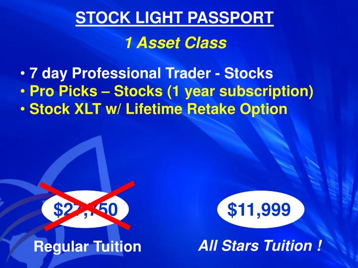STOCK LIGHT PASSPORT