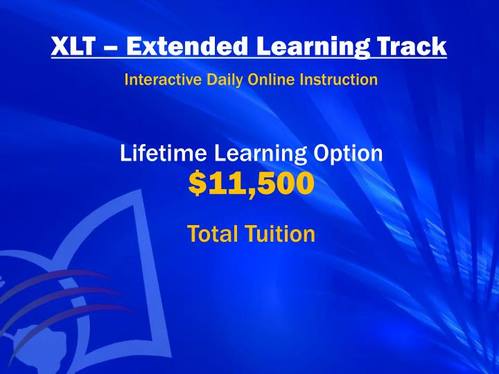 XLT – Extended Learning Track