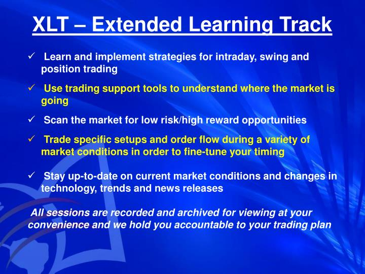 Xlt extended learning track