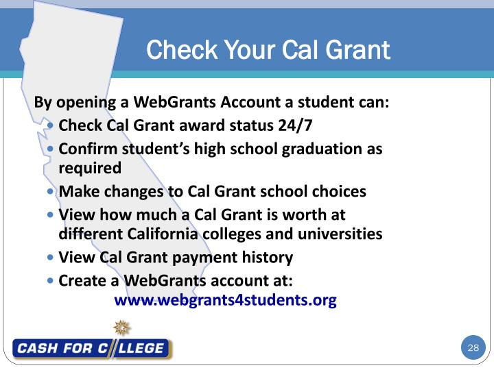 Check Your Cal Grant