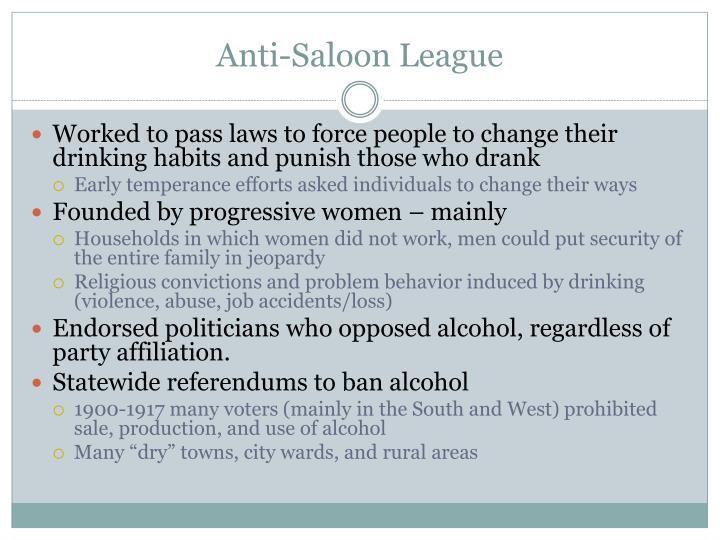 Anti-Saloon League