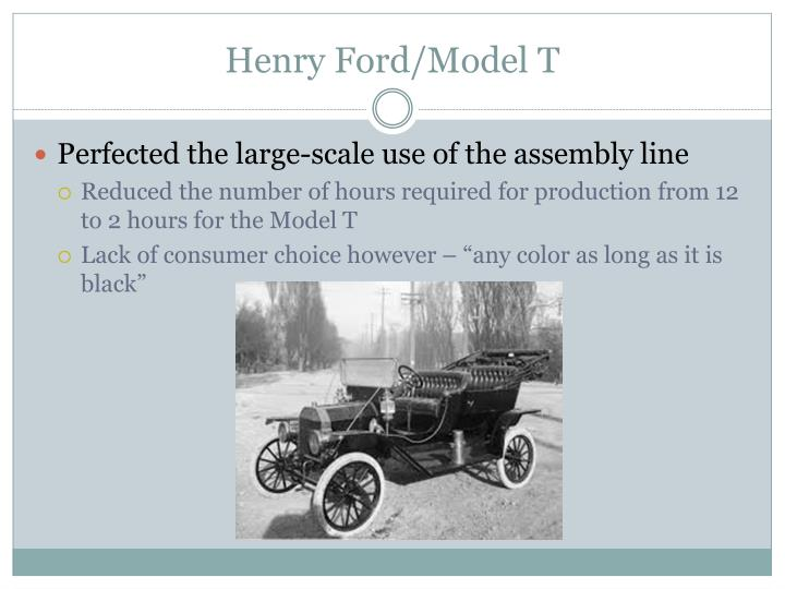 Henry Ford/Model T