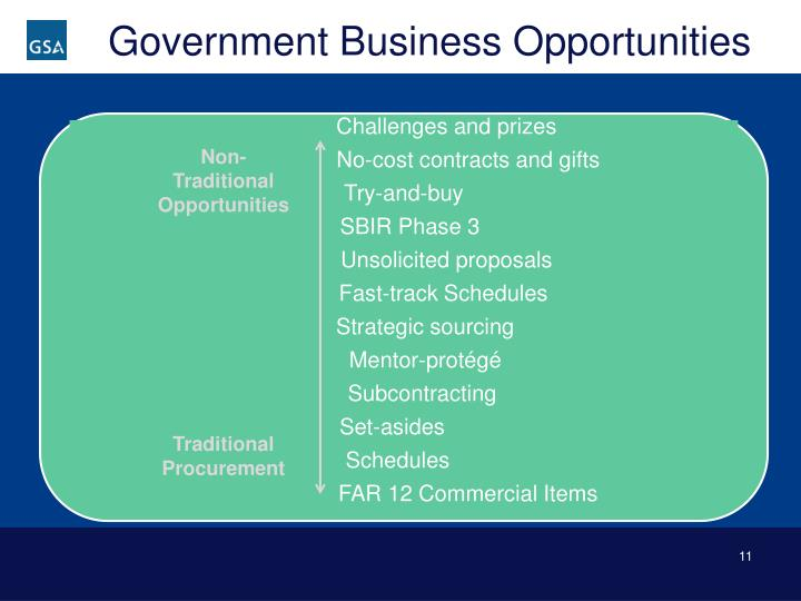 Government Business Opportunities