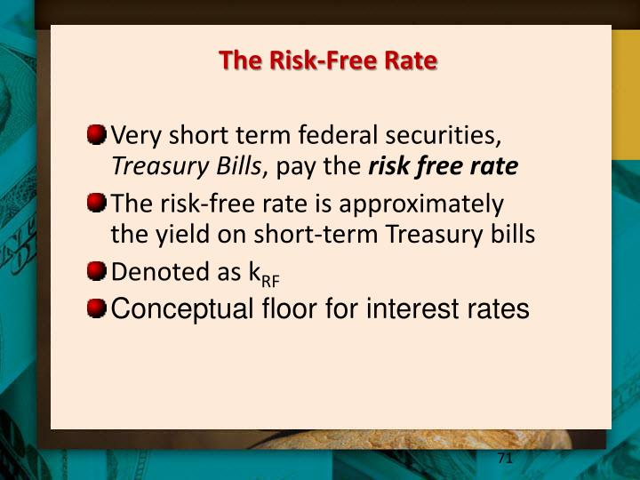 The Risk-Free Rate