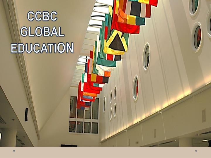 CCBC GLOBAL EDUCATI