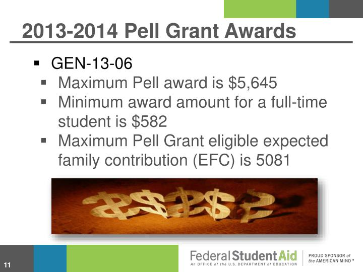 2013-2014 Pell Grant Awards