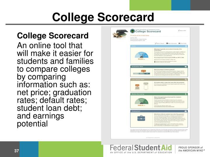 College Scorecard