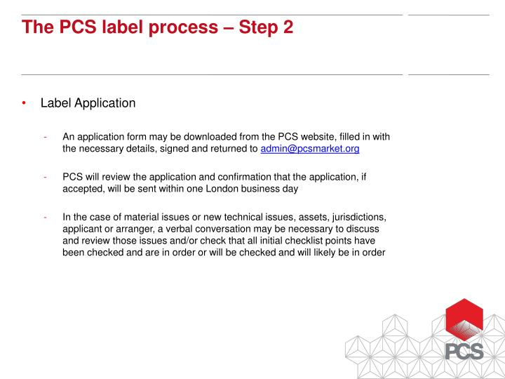 Label Application