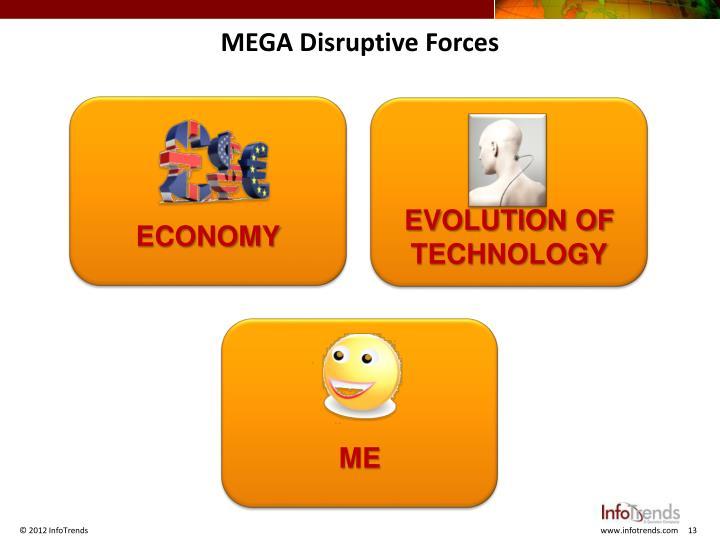 MEGA Disruptive Forces