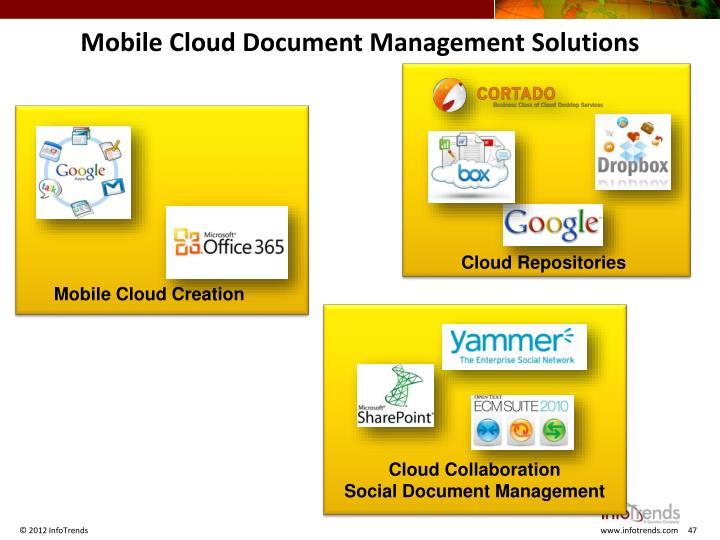 Mobile Cloud Document