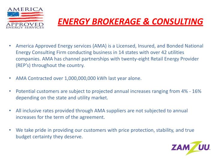 ENERGY BROKERAGE & CONSULTING