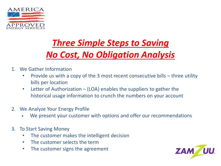 Three Simple Steps to Saving