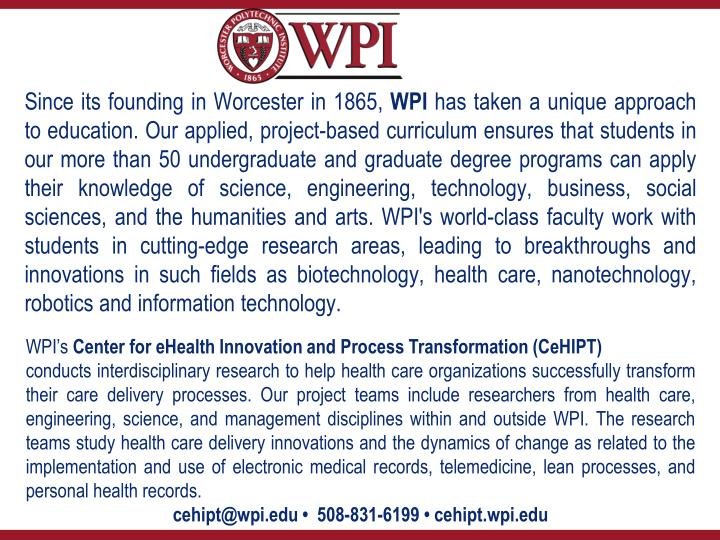 Since its founding in Worcester in 1865,