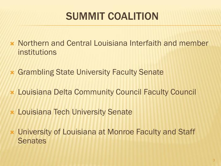 Northern and Central Louisiana Interfaith and member institutions