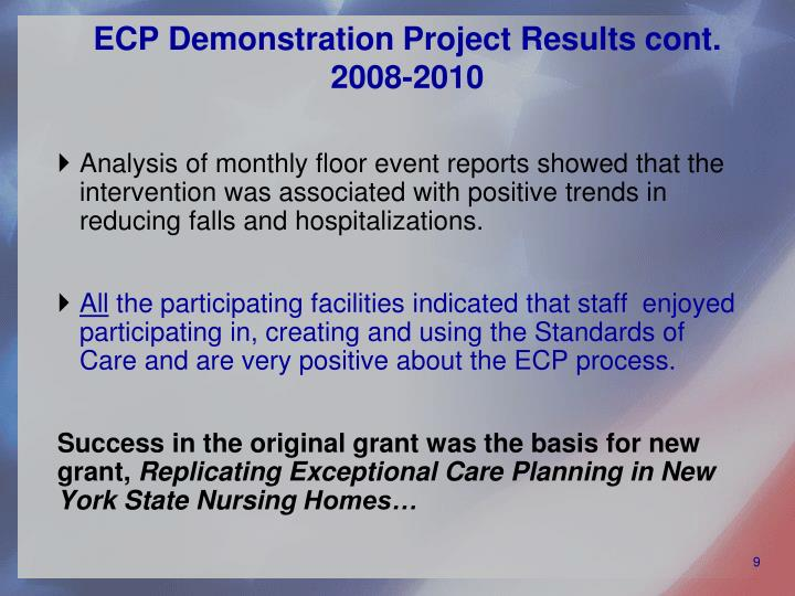 ECP Demonstration Project