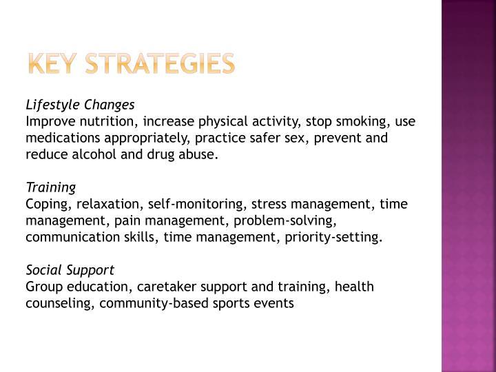 Key Strategies