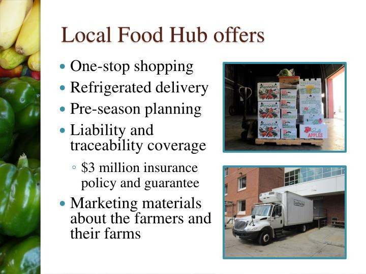 Local Food Hub offers
