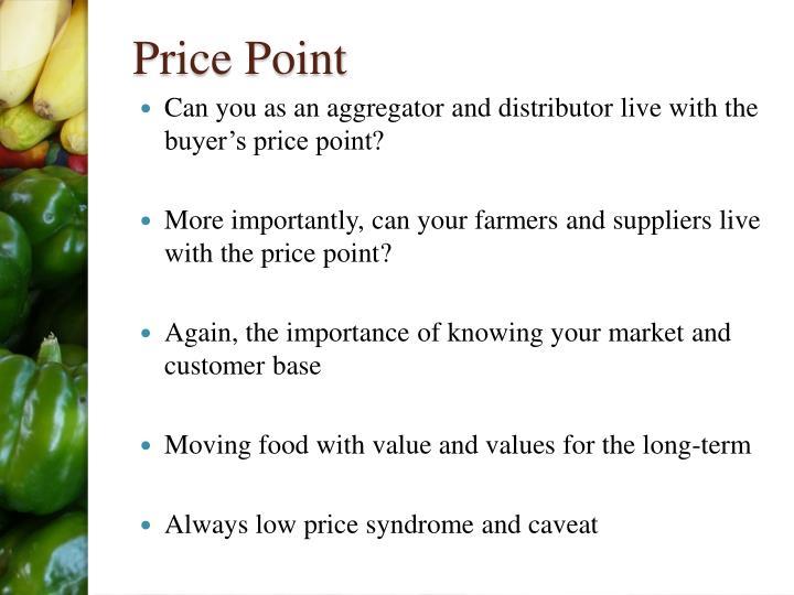 Price Point
