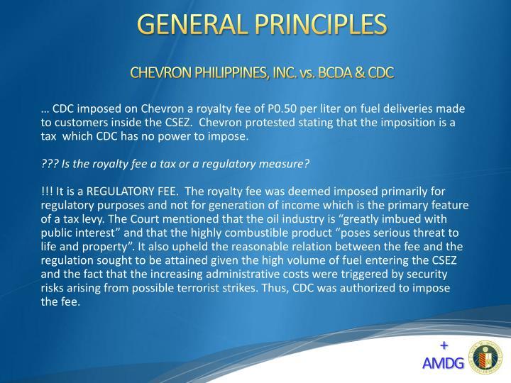 CHEVRON PHILIPPINES, INC. vs.