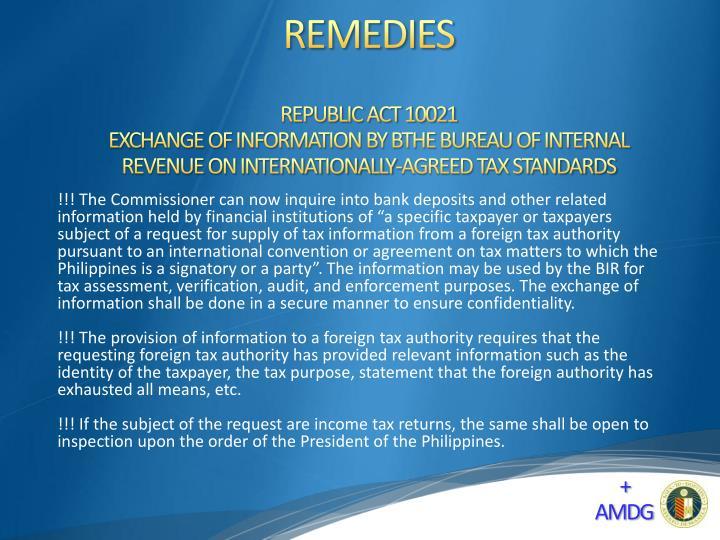 REPUBLIC ACT 10021