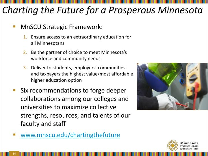 Charting the Future for a Prosperous Minnesota