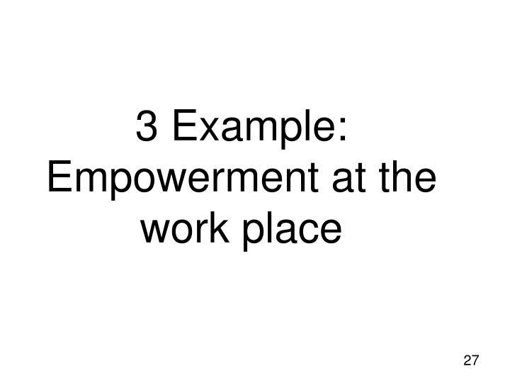 3 Example: