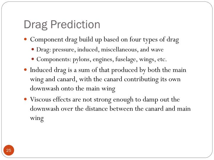 Drag Prediction